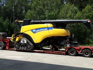 Transport combina agricola Belgia Romania