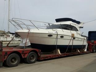 Transport yacht Tulcea Barcelona