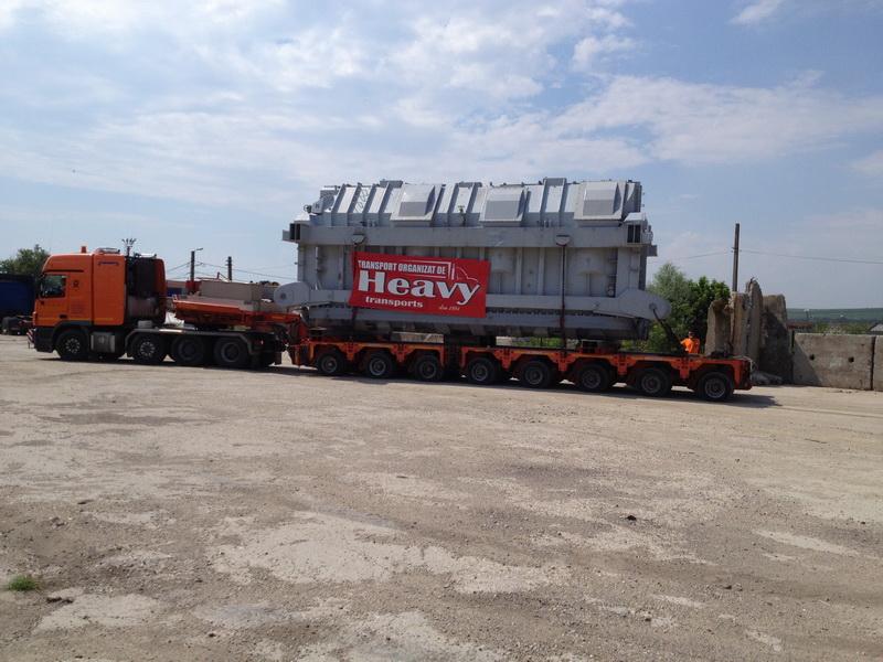 transport 3 transformatoare electrice Craiova Tulcea